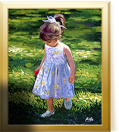 Photo to Painting Artists | Handmade Portraits From Pictures